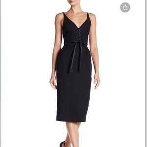 NWT Cinq a Sept Demia Black Dress